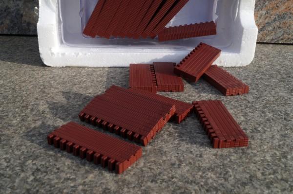Zubehör Ziegelsteine rot 22 Stück