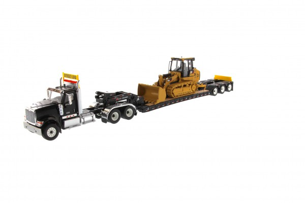 International HX 520 mit Beladung Cat 963K Kettenlader 1:50