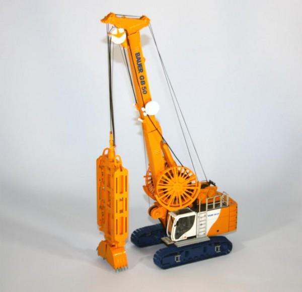 BAUER Grabsystem GB50 mit Schlitzwandgreifer DHG V