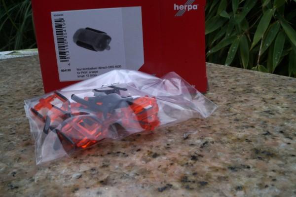 Zubehör Warnlichtbalken Hänsch DBS 4000 für PKW, orange (Inhalt: 12 Stück)