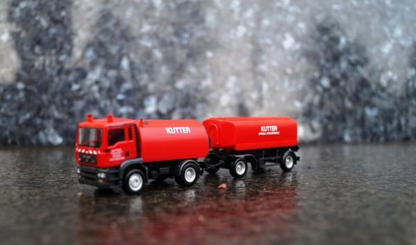 "MAN TGA M Kehrfahrzeug mit Tank-Anhänger ""Kutter"" (Bayern / Memmingen)"