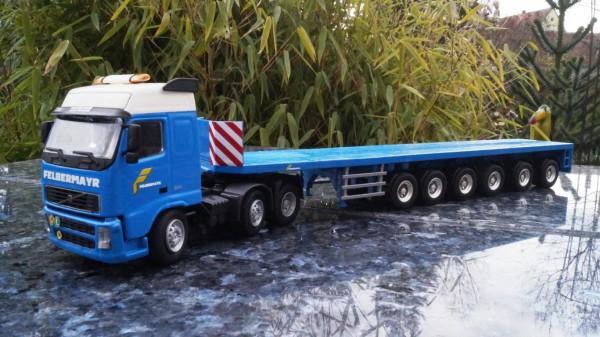 """Volvo 3achs mit 6 achs Ballastauflieger """"Felbermayr"""""""