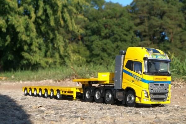 """Volvo FH04 Globetrotter 8x4 mit Nooteboom MCO109-07V Tieflader """" Ter Linden"""