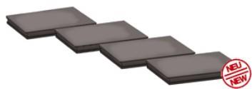 Abstützplatten für Mobilkran 100t