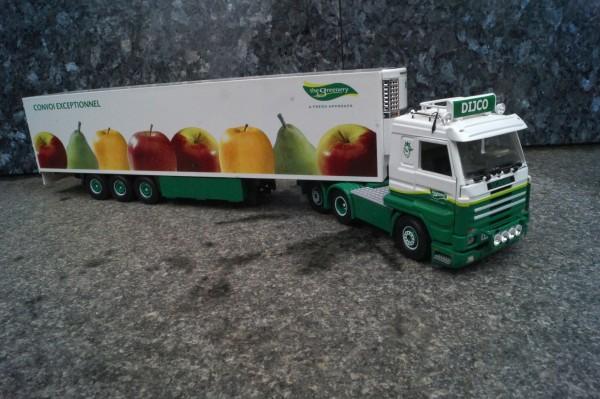 """Scania 3achs mit 3achs Kühlauflieger"""" DIJO"""""""