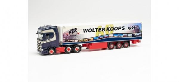 "Scania CS 20 HD 6x2 Kühlkoffer-Sattelzug ""Wolter Koops 60 Jahre"" (Niederlande/Zeewolde)"
