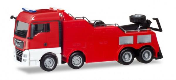 Herpa MiniKit: MAN TGX XLX Empl Bergefahrzeug, rot