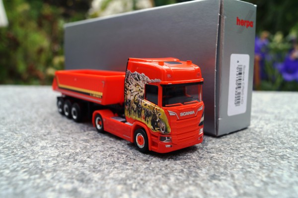 "Scania CR HD Kipp Sattelzug ""Mayolani CH"""