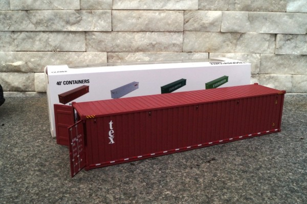"Zubehör 40 ft See Container ""TEX """