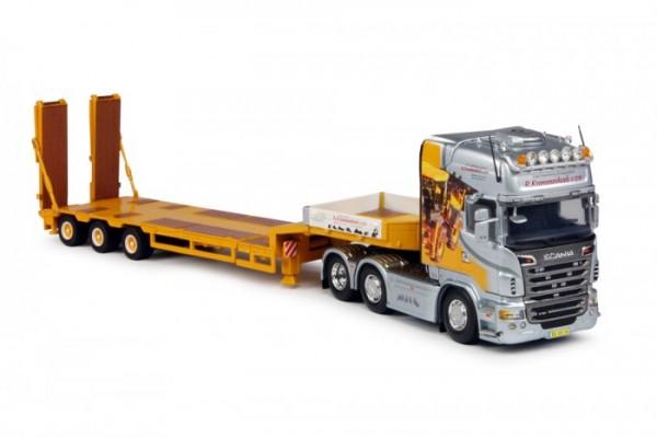 """Scania R Serie Topline 3achs mit 3achs Tieflader """"Krommenhoek"""""""