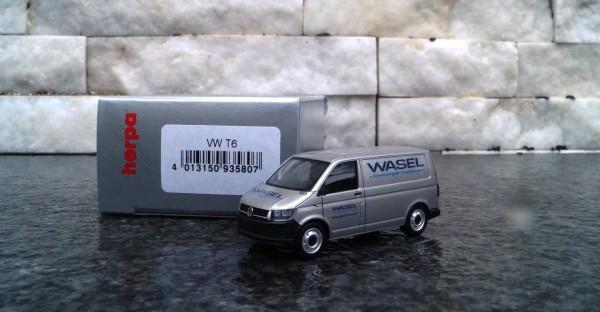 """VW T6 Kasten Transporter """"Wasel Krane"""" silbermetallic"""
