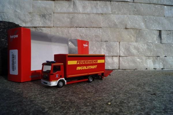 """MAN TGL Planen LKW mit Ladebordwand """"Feuerwehr Ingolstadt"""""""