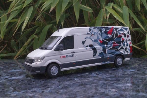 """MAN TGE 3.180 Transporter mit langen Radstand """"LION INSIDE"""""""