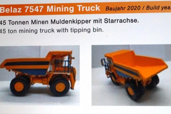 Belaz 547 30 t Muldenkipper Starrachse
