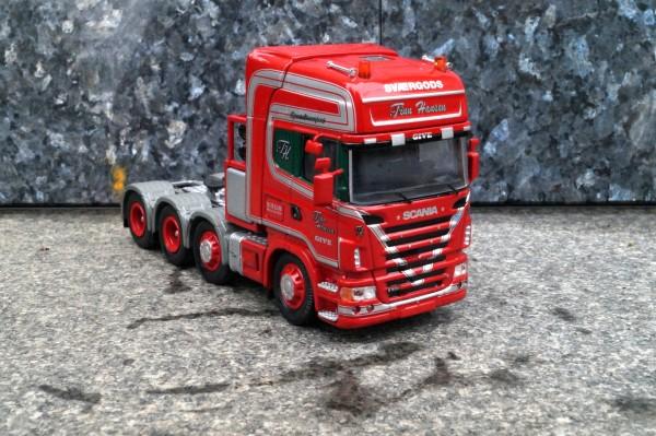 """Scania 4 achs Zugmaschine """"Finn Hansen"""""""
