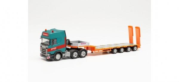 "Scania CR 20 HD 6x4 Semitieflade-Sattelzug ""Gruber"" (Italien/Auer)"