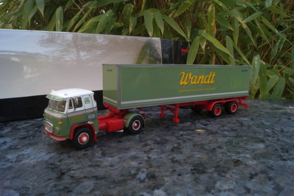 """Scania Vabis LB76 40ft. Container-Sattelzug """"Spedition Wandt"""""""