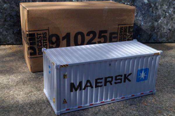 "Zubehör 20 ft See Container ""Maersk"" grau"