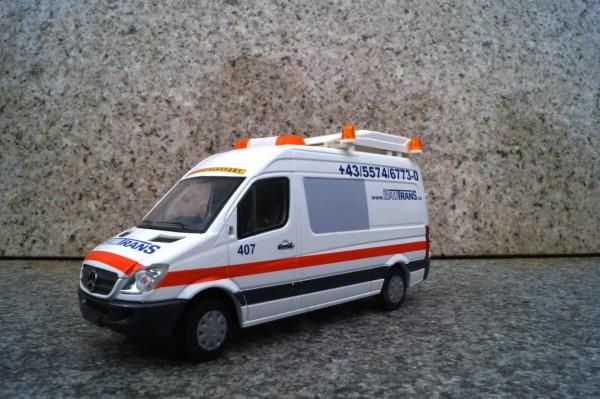 """Mercedes Benz Sprinter BF 3 Begleitfahrzeug """"Bautrans"""""""