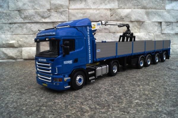 """Scania Highline 4achs Steinauflieger """"Kennis"""""""