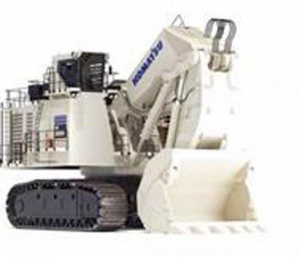 KOMATSU Bagger PC8000-6 Diesel mit Hochlöffel, weiß
