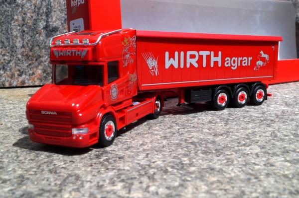 """Scania Hauber TL Stöffelliner-Sattelzug """"Wirth Agrar"""" (Bayern/Illertissen)"""