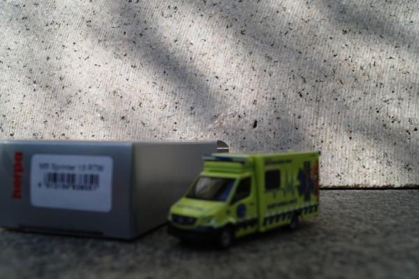 "Mercedes Benz Sprinter 13 Fahrtec RTW ""Stadt Basel/ Baby Ambulance CH"