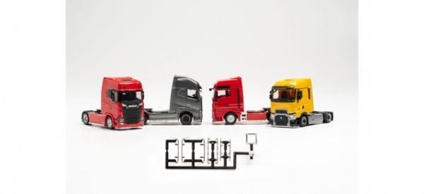 Zubehör Lowbar und Sidebar für Zugmaschinen mit Chassisverkleidung,chrom (f. 6 Zugmaschinen) - (Inha