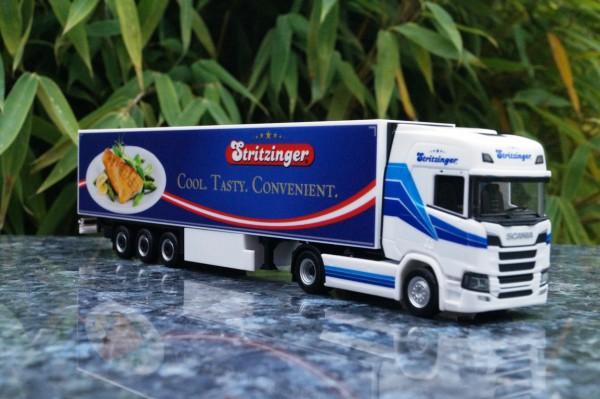 """Scania CR HD Kühlkoffer Sattelzug """"Stritzinger"""" AT"""""""