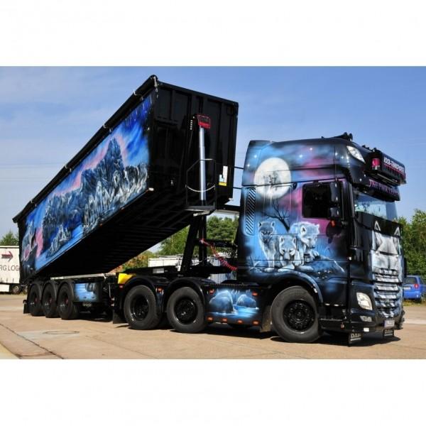 DAF XF SSC MY2017 mit 3achs Volumenkipper - KDSB Transporte