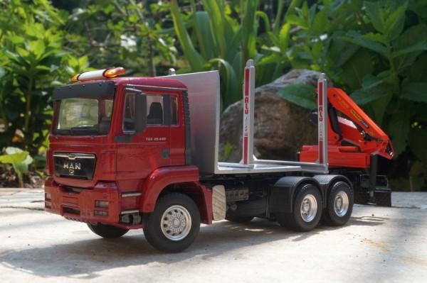 MAN TGS 3achs LKW mit Palfingerkranaufbau PK 19000