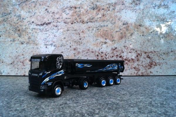 """Scania CR 20 4x4 Rundmulden-Sattelzug """"Wagner Mitteleschenbach"""""""