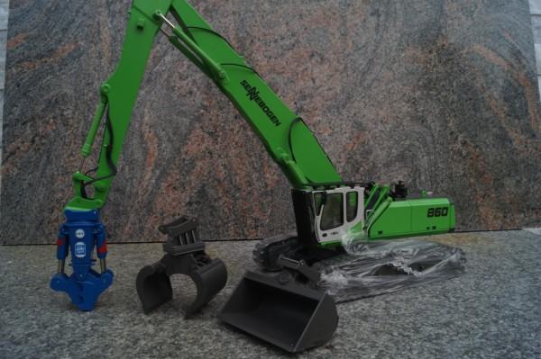 Sennebogen 860HD Materialumschlagmaschine mit Anbauteilen