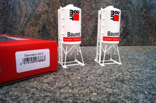 """Zubehör 2 x Standsilo 22,5m³ """"BauMit"""""""