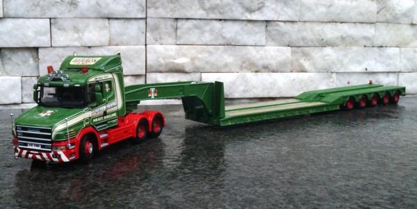 """Scania Heavy Haulage 3achs mit 5achs Tieflader """"Herron"""""""
