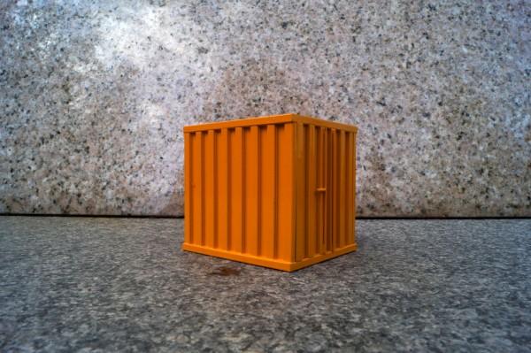 Zubehör 10ft Container schwer orange