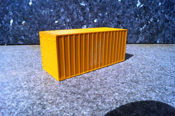 Zubehör 20 ft Container orange